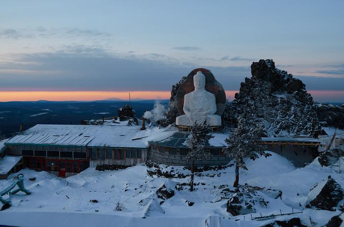 Морозное утро. Урал, Фотография, Качканар, Буддизм, Зима