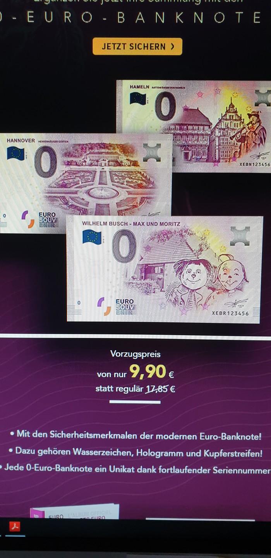 В Германии тоже умеют в  лохопедов Банкноты, Германия, Сувениры