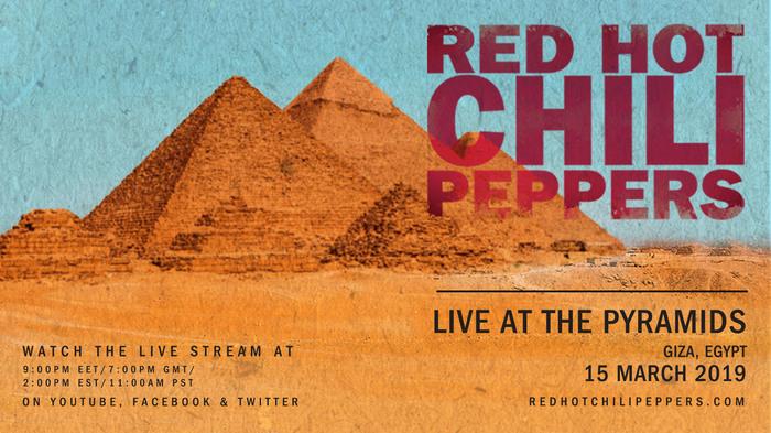 15 марта Red Hot Chili Peppers сыграют концерт у Пирамид Гизы Red Hot Chili Peppers, Гиза, Пирамида, Египет, Концерт, Длиннопост
