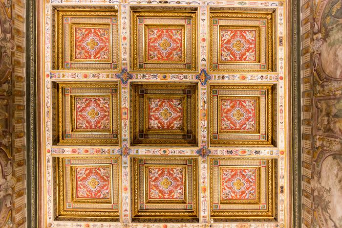 Про потолки (фотодлиннопост) Италия, Флоренция, Красота, Потолок, Искусство, Длиннопост, Фотография, Медичи
