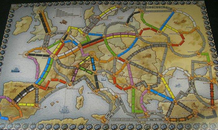 Настольная игра Ниагара и Билет на поезд ( Европа) Настольные игры, Ниагарский водопад, Ticket to Ride