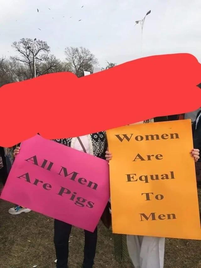Противоречие? Мужчины и женщины, Юмор, Феминизм