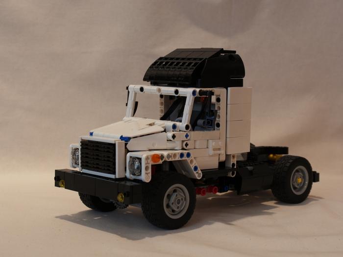 Инструкция к шасси грузовиков из лего LEGO, LEGO technic, Видео, Длиннопост