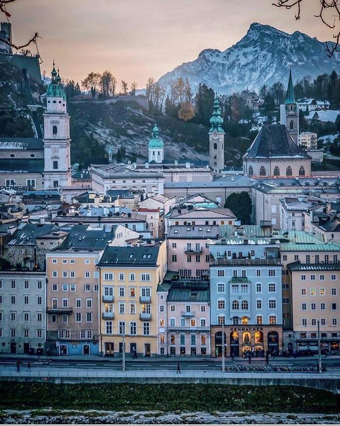Зальцбург, Австрия.