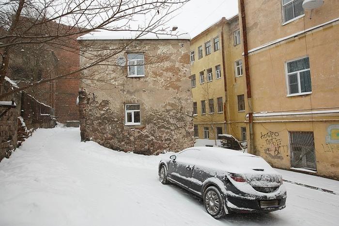 Возможно самый старый жилой дом России Выборг, Архитектура, Длиннопост