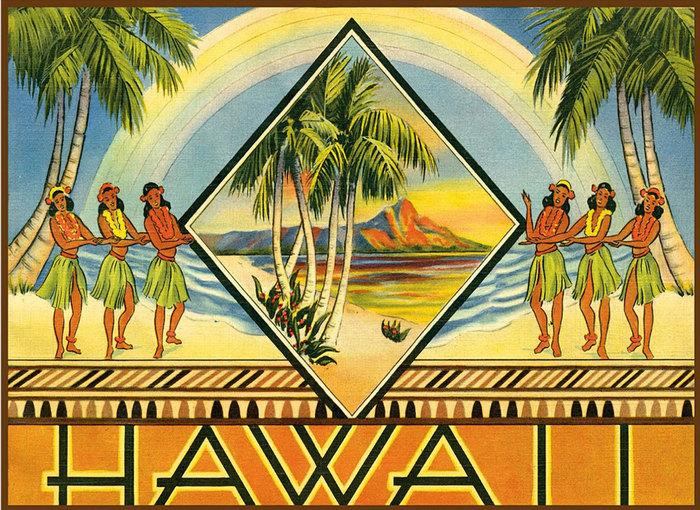 Добро пожаловать на Гавайи Гавайи, Радио