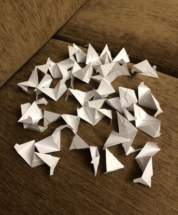 Оригами Оригами, Модульное оригами, Длиннопост
