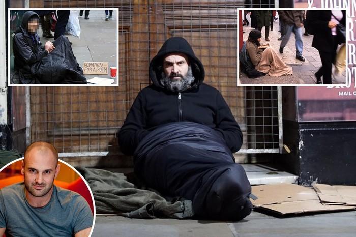 Эд Стаффорд два месяца бомжевал в Великобритании Общество, Выживание, Великобритания, Лондон, Бомж, Военные, Бездомные, Манчестер, Длиннопост
