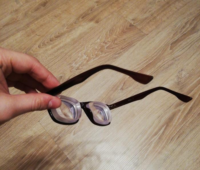 """Недавно в ленте на Пикабу встретил фото на тему как выглядят очки на - 20, чтож, """"хвастаюсь"""" еще более убойными, итак, встречайте - 30!!! Плохое зрение, Близорукость, Диоптрии, Длиннопост, Очки"""