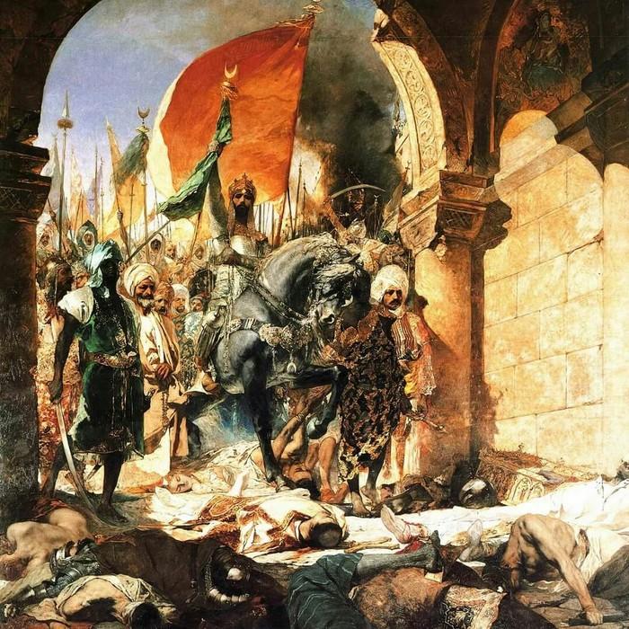 Меч покорителя Константинополя Мехмеда II Фотография, Красота, Меч, Оружие, История, Турция, Холодное оружие, Интересное, Длиннопост