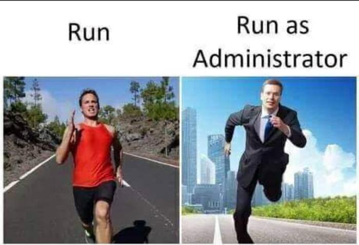 Именем администратора