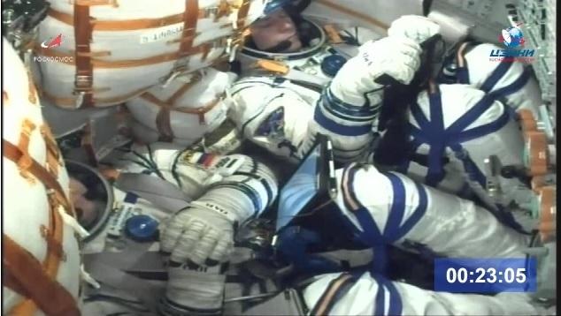 Провожаем космонавтов. Космос, Запуск, Байконур, МКС, Видео