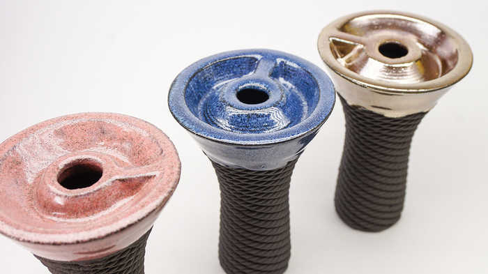 Керамические фанелы, напечатанные на 3д принтере. Кальян, 3D печать, Керамика, 3D принтер, Длиннопост