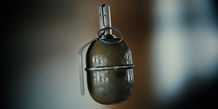На занятиях солдат уронил в окоп боевую гранату. Его спас офицер Военные, Ручная граната, Подвиг, Взрыв