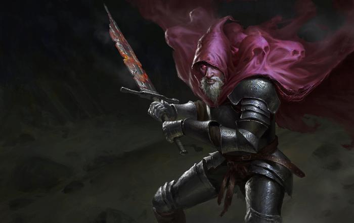 Рыцарь-раб Dark Souls, Dark Souls 3, Slave Knight Gael, Арт, Компьютерные игры