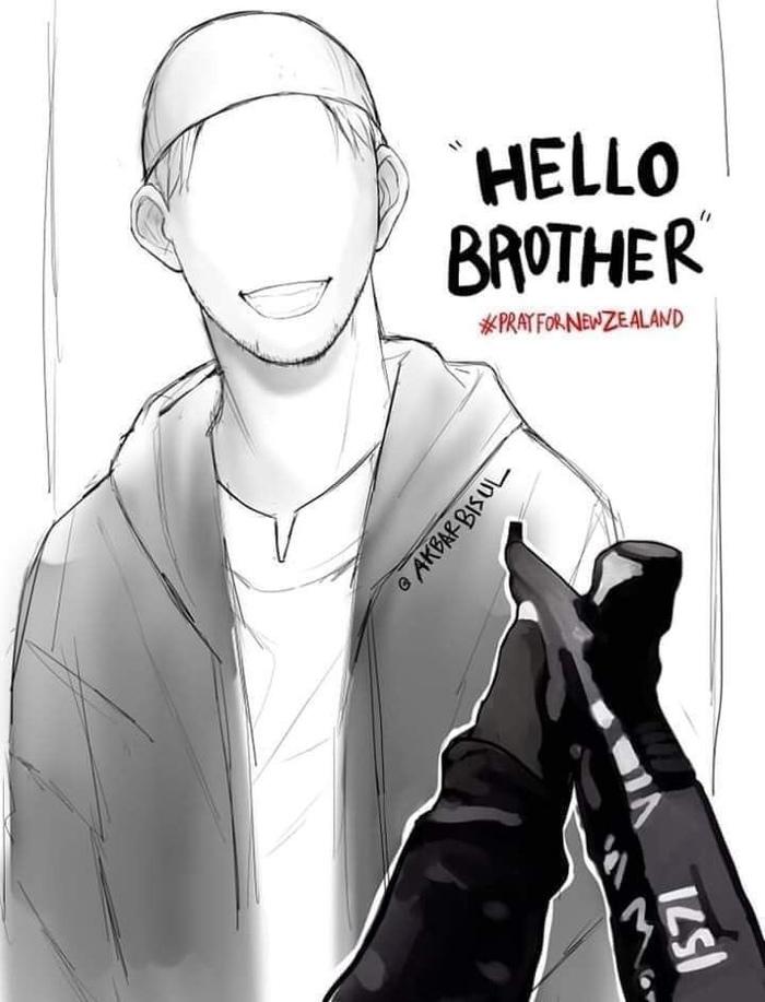 «Привет, брат!» Стали известны последние слова первой жертвы стрельбы в мечети Теракт, Мусульмане, Ислам, Новая зеландия, Стрельба, Жертва, Драка