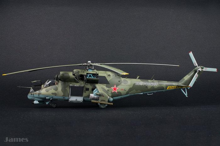 Ми-24П Стендовый моделизм, Ми-24п, Тестовая сборка, Вертолеты России, Хобби, Сборная модель вертолета, Видео, Длиннопост