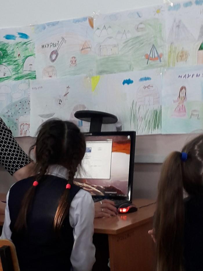 Коротко о том, как проходит информатика в Казахстане.