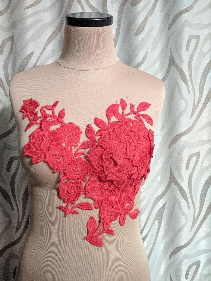 Красное платье Шитье, Рукоделие, Рукоделие без процесса, Шитье вручную, Своими руками, Ручная работа, Длиннопост