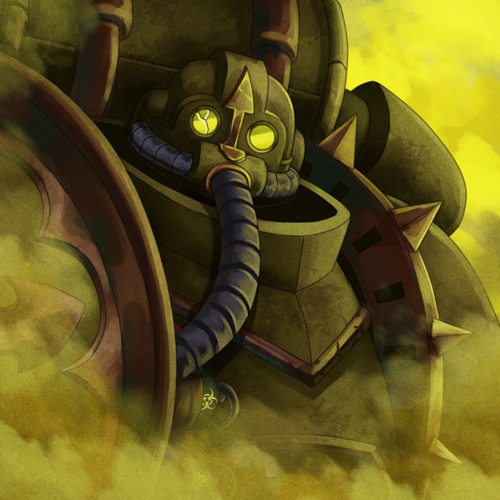 Plaguebearer Wh Art, Нургл, Chaos Space marines