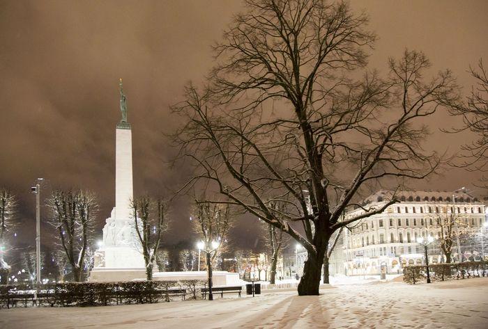 В Латвии двое солдат США справили нужду на Памятник Свободы Латвия, Рига, США, НАТО, Армия, Солдаты, Новости, Политика