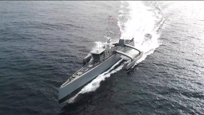 Беспилотный надводный флот Ударные беспилотники, Флот, Флот США, Корабль, Война, IT, Новые технологии, Видео, Длиннопост