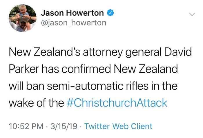 Всё идет по плану террориста. Новая зеландия, Терроризм, Насилие, Новости, Оружие, Длиннопост, Стрельба, Негатив, Twitter
