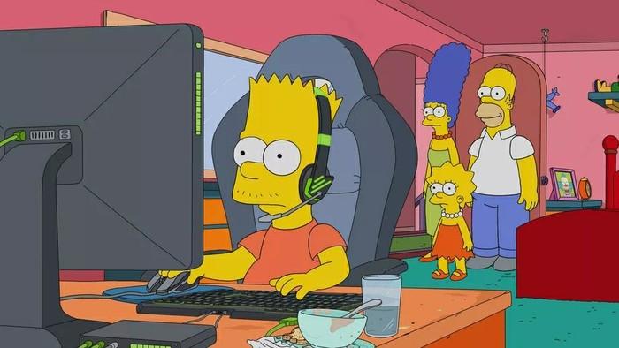Барт Симпсон стал киберспортсменом в новой серии The Simpsons League of Legends, Симпсоны, Киберспорт, Геймеры, Игры, Лол, Компьютерные игры, Сериалы