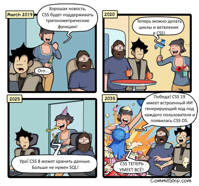 Развитие CSS CSS, Комиксы, Commitstrip, Веб-Разработка