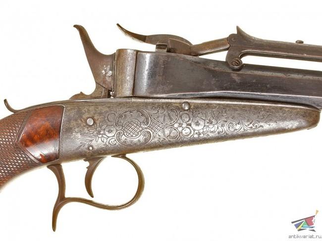 Пистолет системы Колетте Редкое и необычное оружие, Пистолеты, Длиннопост