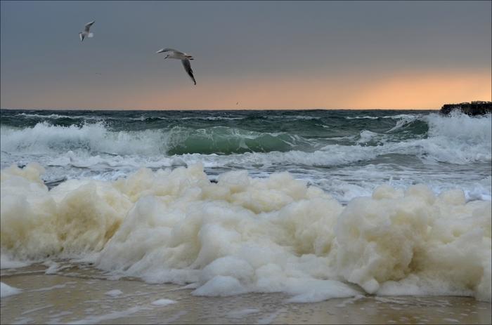 Волны... Красиво... Волна, Океан, Море, Длиннопост
