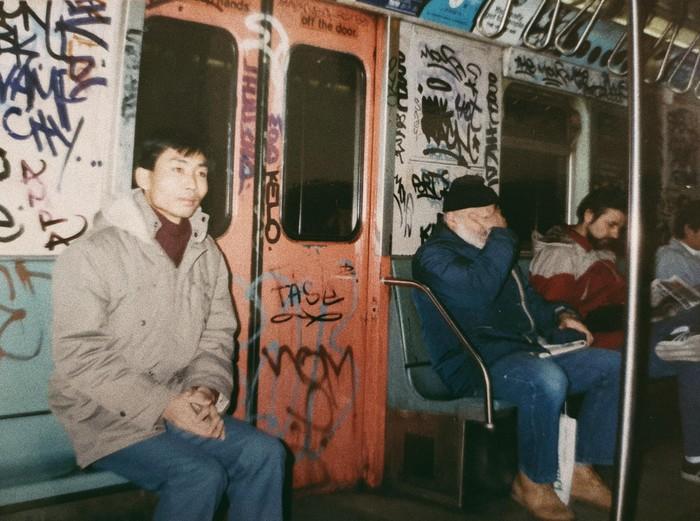 Метро Нью-Йорка 1986 год