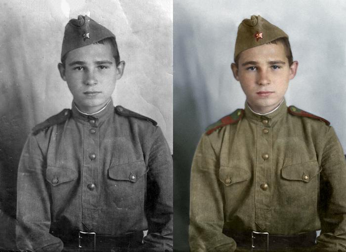 Моя колоризация Колоризация, Великая Отечественная война, Чтобы помнили, Длиннопост