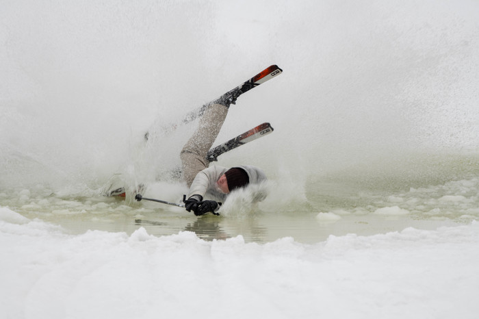 Лужа 2019! Закрытие сезона! Фоторепортаж и видосик. Юмор, Лыжи, Горные лыжи, Сноуборд, Спорт, Фотография, Видео, Длиннопост, Вертикальное видео