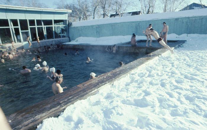 Термальный Камчатка 1985 г. СССР