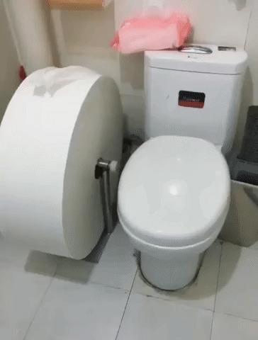 У кого-то не скоро закончится туалетная бумага