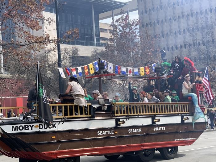 День Святого Патрика - праздничный парад в Сиэтле День святого Патрика, Сиэтл, Парад, Длиннопост