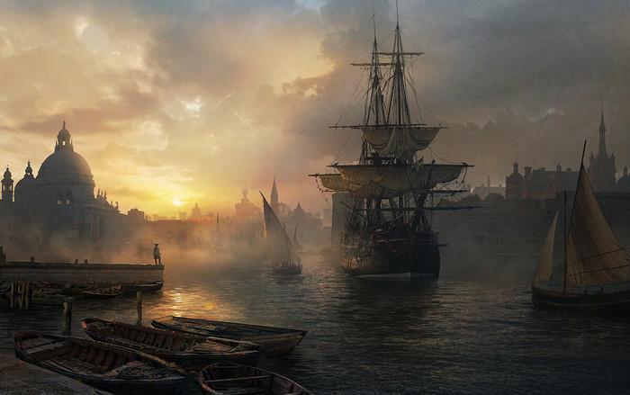Порт Арт, Рисунок, Порт, Корабль