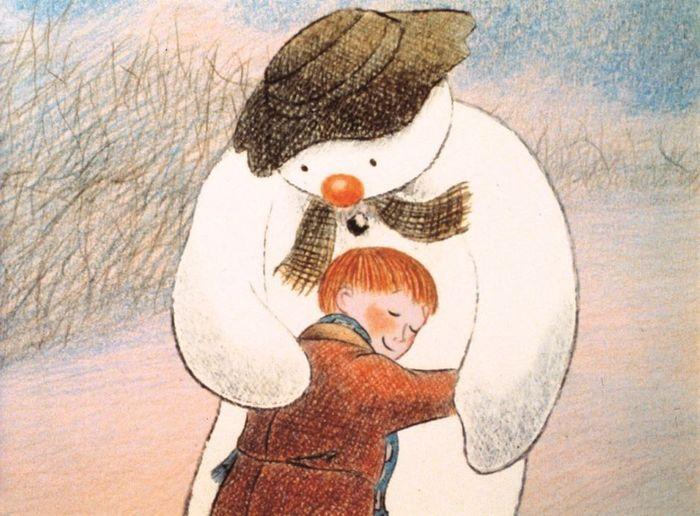 """Мультфильм """"Снеговик"""" (The Snowman, 1982). Просто кончается зима... Мультфильмы, Короткометражка, Настроение, Снеговик, Отзыв"""