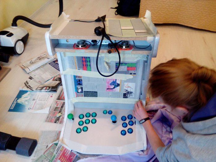 Аркадная машина своими руками. Аркада, Игровые автоматы, Своими руками, Ретро-Игры, Ретро, Длиннопост