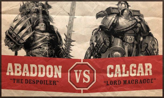 Калгар против Абаддона. Wh News, Warhammer 40k, Wa Art, Длиннопост