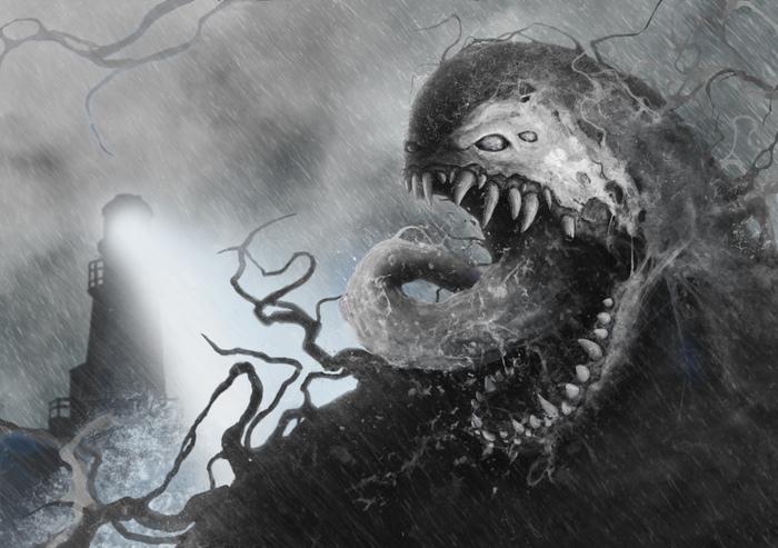 My Venom Marvel, Photoshop, Digital, Comicsbook, Wacom, Арт, Длиннопост, Веном