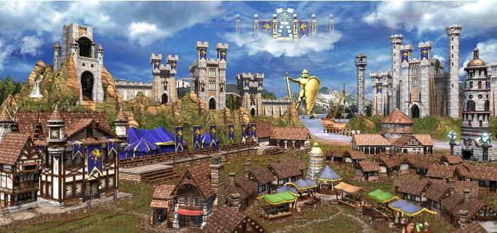 Heroes of Brick and Mortar. Архитектура городов HOMM III, Архитектура, Игры, История, Длиннопост, Герои меча и магии
