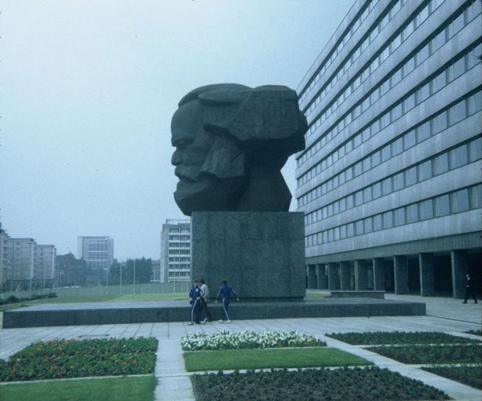 Голова Карла Маркса Скульптура, Германия, Карл Маркс, Бронза, ГДР, Длиннопост