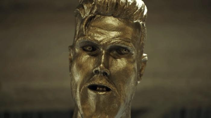 Реакция Девида Бекхэма на свою статую Дэвид Бекхэм, Футболисты, Статуя, Длиннопост, Знаменитости, Розыгрыш, Пранк