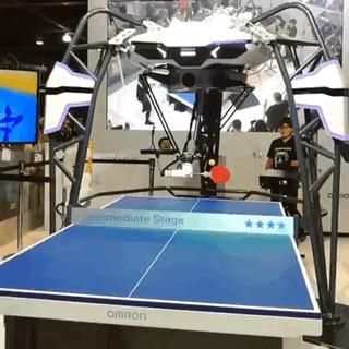 Робот для пинг-понга.