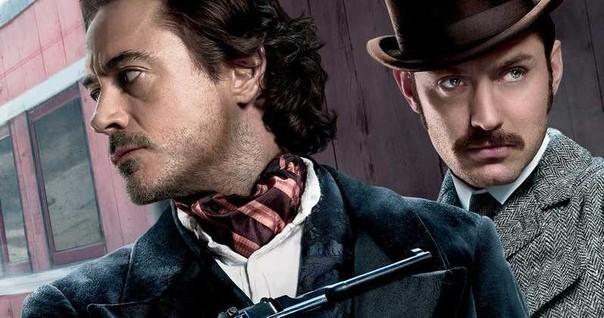 Триквел «Шерлока Холмса» отправится на Дикий Запад Шерлок Холмс, Джуд Лоу, Роберт Дауни Младший