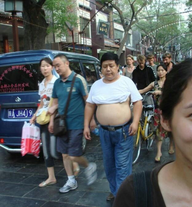 Пекинское бикини - Страх и ненависть в Поднебесной Китайцы, Китай, Живот, Длиннопост