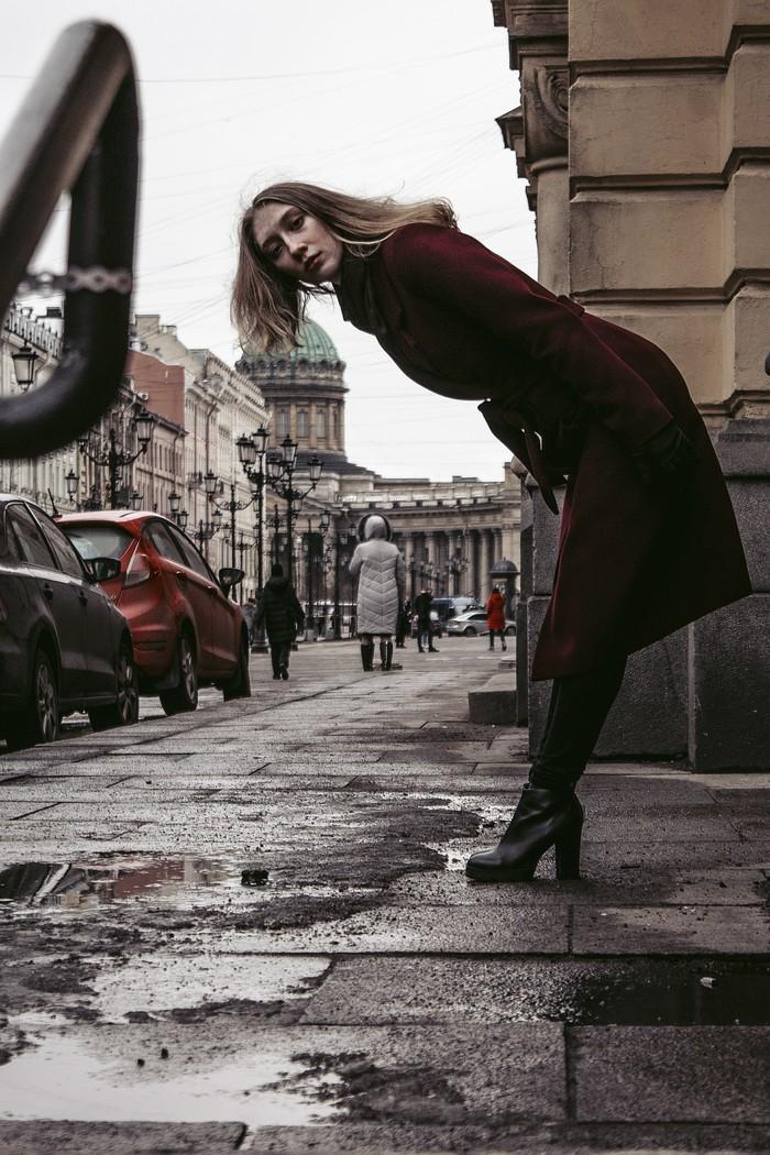 Девушка и город. Прогулочное. Фотография, Начинающий фотограф, Санкт-Петербург, Портрет, Хочу критики, Фотограф, Длиннопост