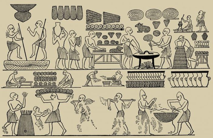 Кухня Древнего Египта: что ели фараоны. Древний Египет, Журнал мир фантастики, Кухня, Кулинария, Длиннопост, История, Древность